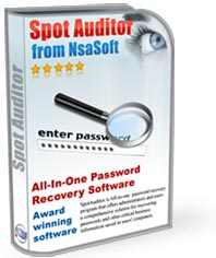 SpotAuditor - Lost Password Recovery Software