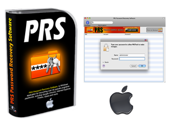 PRS is password recovery software for MAC